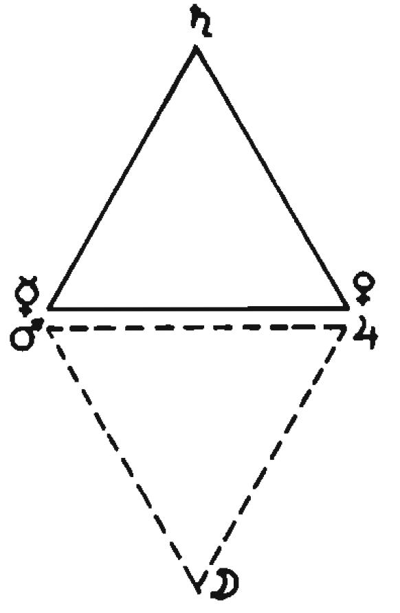 LBRH, 육각별 서쪽 형태